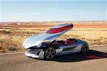 なぜフランス人はケッタイな車を作るのか。ルノーが非常識なTrezor conceptを発表