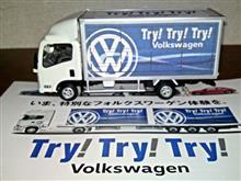 〈1/43〉Try! Try! Try! Volkswagen ISUZU ELF Smoother-EX