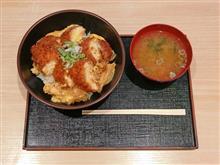 名神高速上り大津SA 近江鶏カツとじ丼900円