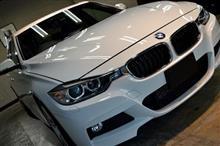 品質の良さとは硬化しながらも柔軟である事!! BMW320i Mスポーツのガラスコーティング【リボルト千葉】