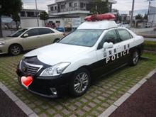〈パトカー〉TOYOTA CROWN GRS200 山梨県警