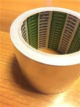 アルミテープ検証 その1:コラムカバーへの貼付