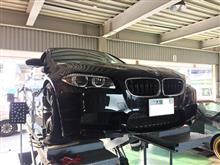 BMW M5(F10)アライメント調整!!