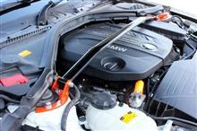 オレンジWOLF ストラットタワーバー BMW 2シリーズ ガブリオレ F23