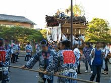 香取市の佐原の大祭