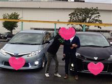 みん友の黒エスティマ★さんに会ってキタキタキター━(゚∀゚)━!