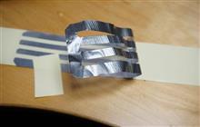 【検証】アルミテープを剥がしてみた!