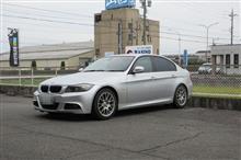 メンテナンスは大事...BMW E90 320 エンジンオイル交換 FUCHS 5W40