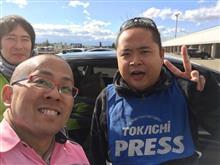 札幌のクルーズ レブスピード走行会で加茂先輩ゲット!