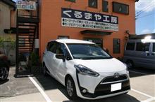 【トヨタ シエンタ】ロードノイズ対策&ドアデッドニング