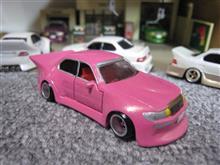 トミカ改造 ピンクマジェスタじゃなくセルシオでした、