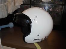ヘルメットバイザー塗装②