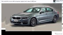 New BMW5シリーズ