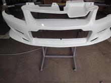 ランサー フロントバンパー FRP修理 PP修理 ABS修理 ウレタン修理 愛知県豊田市 倉地塗装 KRC