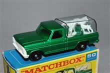 英国マッチボックス No.50 フォード犬小屋トラック(KENNEL TRUCK)