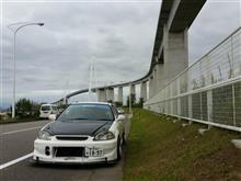 新湊大橋走ってみた。