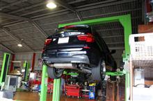 BMW F25 X3 35i ATF交換