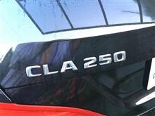 点検修理の代車③CLA250シューティングブレ-ク