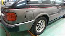 『いすゞ ピアッツァ 板金・塗装・修理』 東京都府中市からご来店のお客様です。