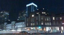 夜の東京駅♪