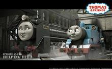 最近久々に機関車トーマスを見ました。