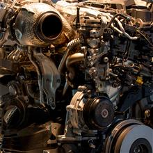 【Mercedes-Benz Museum】30 | Diesel Engine OM654 in E220d