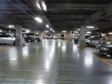 三菱の多い駐車場