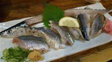 秋刀魚の炙り寿司