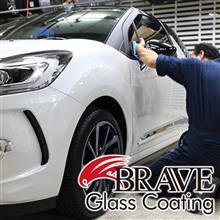 納車・車検のタイミングで、輝きのディフェンダーに!アクセスエボリューションのガラスコーティング!