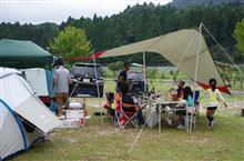 滋賀県朽木村 おじさんキャンプ