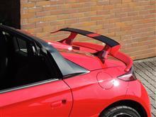 S660リアウイング スクーデリアのツートン塗装仕様