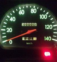 4779日で20万キロ達成!