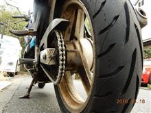 [CBR250Four] タイヤ選び その4・装着インプレッション(ダンロップGT601)の巻