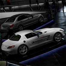 【Mercedes-Benz Museum】32 | SLS AMG Electric Drive