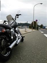 バイクに乗りました
