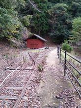 明延鉱山と近くの林道にソロツーリング