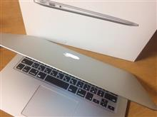 MacBook Air買うた。