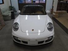 ポルシェ 911(997)911ターボ カブリオレ、採寸&装着確認(完成)