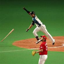 西川のサヨナラ満塁弾で日本ハム王手