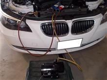 BMW E60 530 エアコンコンプレッサー交換
