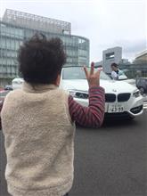 BMWのカブリオレを楽しむ♪