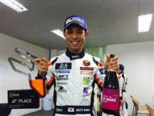 Asian Le Mans 開幕戦 Zhuhai戦は幸先よくクラス2位でFINISH !!