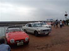 クラッシックカー展示