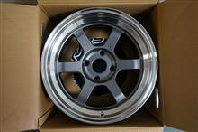 今日のホイール RAYS Volk Racing TE37V(レイズ ボルクレーシング TE37V) -トヨタ AE86用-