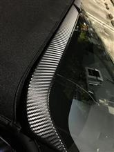 S660 DUCKS-GARDEN Aピラートップはちまきスポイラー装着工夫、インプレなど・・・・・