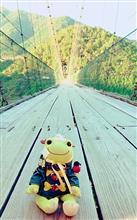 インドカレー🍛と谷瀬の吊り橋🌉😬😱😆