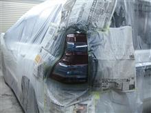 ヘッドライト テールレンズ スモーク塗装 カラークリアー塗装 クリアーハゲ 黄ばみ 愛知県豊田市 倉地塗装 KRC