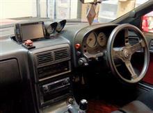 追加メーター(水温計・油温計・油圧計・ブースト計)の変更とパワーウインドウ修理