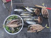 魚の炭火焼