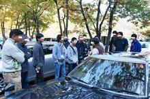 ★紅葉真っ最中の奥多摩湖で紳士&淑女が自動車&大統領選挙について語り合う!(笑)11月のFC-WORKS奥多摩湖オフ開催です♪
